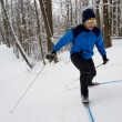 Man cross-country skiing — Stock Photo #64615627