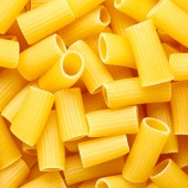 Rigatoni background — Stock Photo