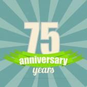 Anniversary emblem. — Stock Vector