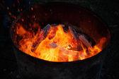 燃える火 — ストック写真