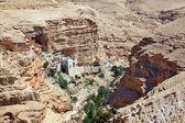 Wadi Kelt near Jerusalem — Stock Photo