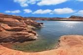 Искусственное озеро Пауэлл — Стоковое фото