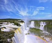 Multi-tiered cascades of water — Stock Photo