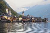 Small town in Austria - Hallstatt — Stock Photo