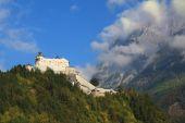 Palácové pevnosti hohenwerfen — Stock fotografie