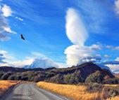Impressive cloud over Patagonia — Stock Photo
