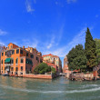 Graceful bridge spans the Grand Canal — Stock Photo #53806829