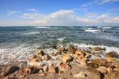 Mediterranean  waves — Stock Photo