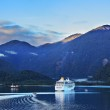 Early morning in the Chilean fjord — Stock Photo #54283935