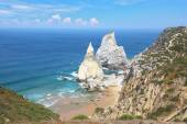 Two cliffs, similar in shape to a portion of ice cream — ストック写真