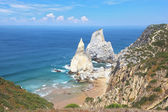 Two cliffs, similar in shape to a portion of ice cream — Foto de Stock