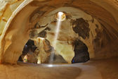 Famous belfry Beit Guvrin caves in Israel — Stock Photo
