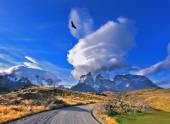 National Park Torres del Paine in southern Chile — Stock Photo