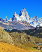 Fitz Roy peaks — Stock Photo