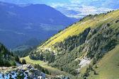 Gorgeous  mountain slopes — Stock Photo