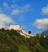 Majestic  Burg Hohenwerfen — Stock Photo