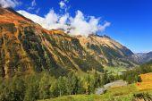 Early autumn in the Austrian Alps. — Stock Photo