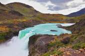 The Salto Grande waterfall  — Stock Photo