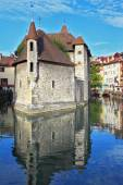 Ancient city of Annecy in Provence — Stock Photo