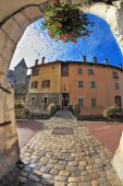 Old town of Annecy in Provence — Stok fotoğraf