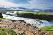 Grand Gullfoss in mid-July — Photo