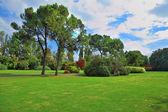 Famous Garden Park Sigurta in Italy — Stock Photo