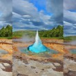 Geyser Strokkur in Iceland — Stock Photo #61636529