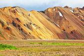 The Landmannalaugar nature reserve — Stock Photo