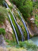 Unusual waterfall — Stock Photo