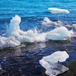 Floating ices on the beach — Stock Photo #62675059
