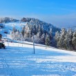 Winter mountain sports resort — Stock Photo #63972027