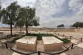 Grave of the founder David Ben-Gurion — Stock Photo