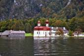 Church St. Barths on Koenigssee — Stock Photo