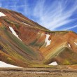 Rhyolite mountains in Icelandic reserve — Fotografia Stock  #68934493