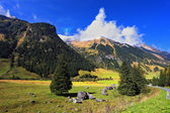 Autumn in Austrian Alps — Photo