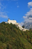 Majestic medieval Burg Hohenwerfen. — Stock Photo