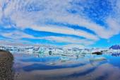 Glacial Lagoon in Iceland. — Stock Photo