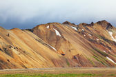 Mountains in Landmannalaugar, Iceland — Stock Photo