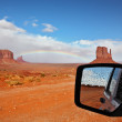 Monument Valley in Navajo Indian Reservation — Stock Photo #73039815