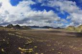 National Park Landmannalaugar in July — Stock Photo