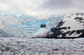The huge Vatnajokull glacier — Foto de Stock