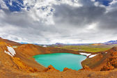 Summer lake  in Iceland — Stock Photo