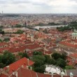 Historical center of Prague (View from the tower of Saint Vitus Cathedral). — Stock Video #52640521