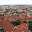 Historical center of Prague (View from the tower of Saint Vitus Cathedral). — Stock Video #52648963