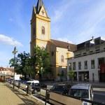 City Hluboka nad Vltavou in Czech Republic. — Stock Photo #53336051