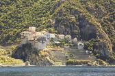 Dionysiou monastery. Holy Mount Athos. — Stock Photo