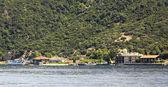 Marina on Holy Mount Athos. — Stock Photo