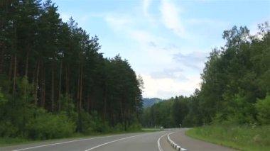 New roads Altai Krai. Russia. — Stock Video