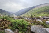 Glacial valley Glendalough — Stock Photo
