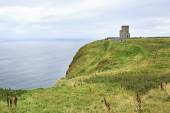 OBriens Tower on Cliffs of Moher. — Stock Photo